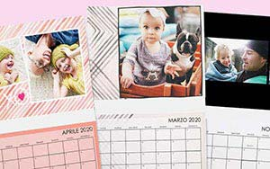 Calendario Fotografico 2020.Foto Calendario Personalizzato 2020