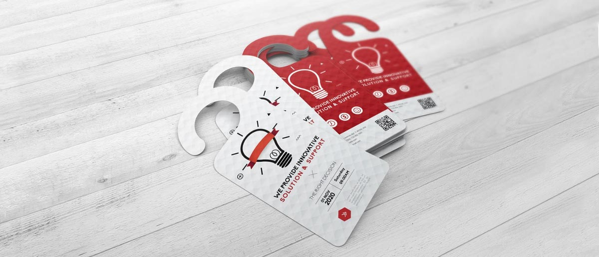 Door hanger, 10 idee di marketing vincenti per piccole imprese locali
