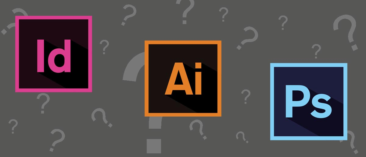 Quando usare Adobe InDesign, Illustrator o Photoshop